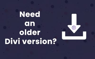 Download any Divi version